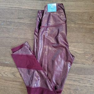 V.S Pink total knock out tights size small